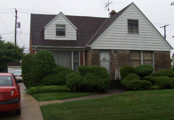 Jack Saul's Cleveland home