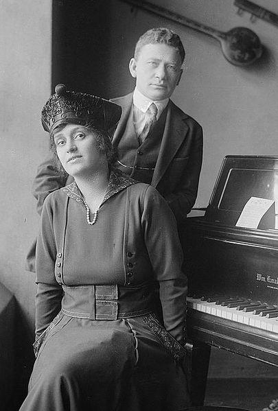 Alma Gluck and Efrem Zimbalist